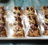 ダンディウサギクッキー