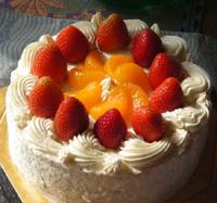 アレルギー対応ケーキ