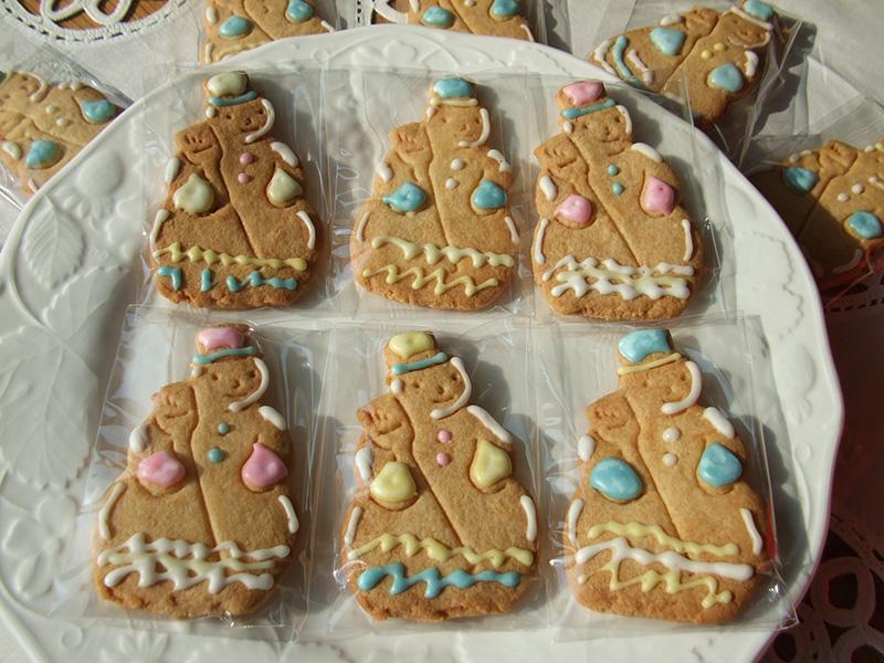 スノーマンのクッキー